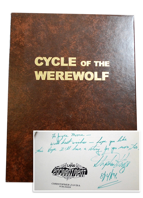 Stephen King Cycle of Werewolf Signed
