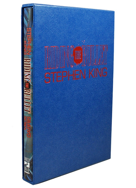 "Stephen King ""Riding The Bullet"" Collector's Limited Gift Edition, Slipcased [Very Fine]"