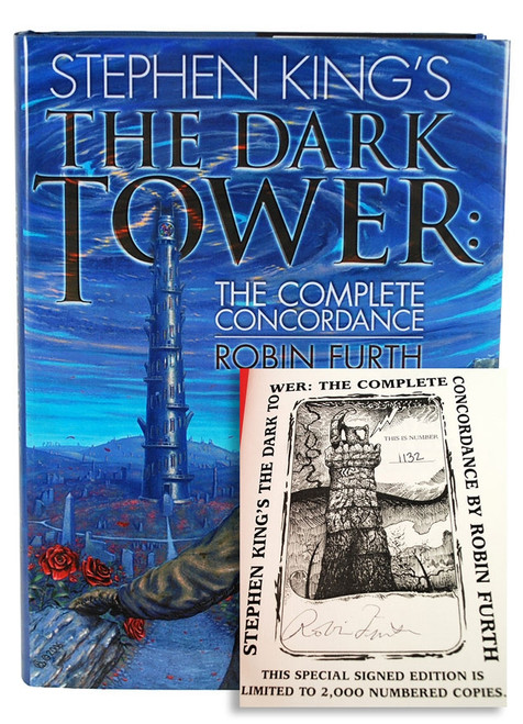 "Robin Furth ""Stephen King's The Dark Tower: The Complete Concordance"" Signed Limited Edition"