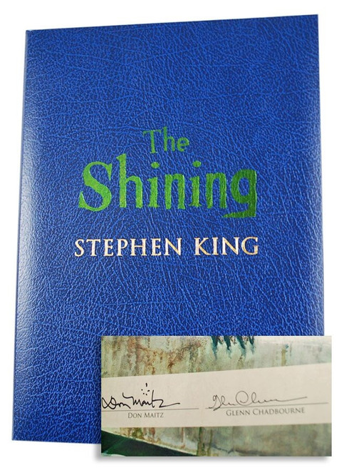 "Stephen King ""The Shining"" Signed Artist Edition #393/750 - Oversized Deluxe w/Traycase [Very Fine]"
