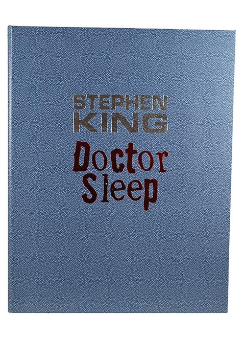 "Stephen King ""Doctor Sleep"" Signed Lettered Edition ""RR"" of only 52 w/Traycase [As New]"