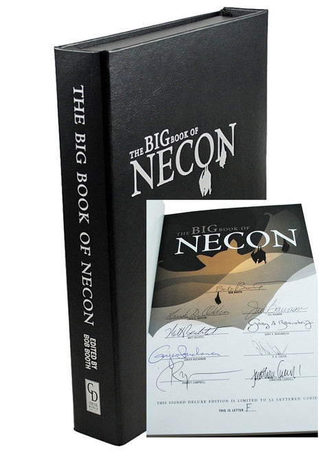 "Stephen King, ""The Big Book of NECON"" Signed Lettered Edition #F"
