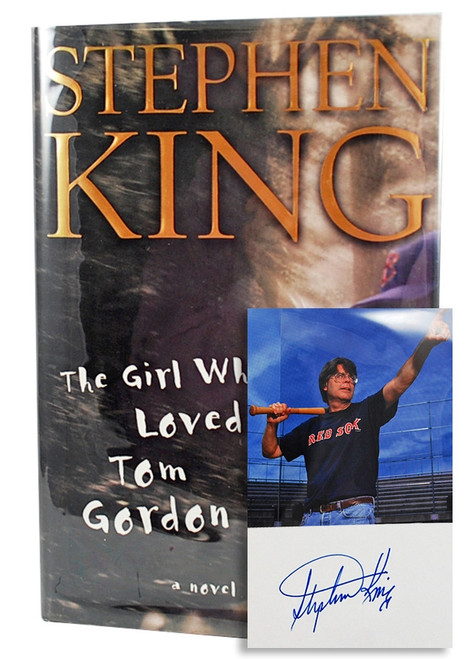 """Stephen King """"The Girl Who Loved Tom Gordon"""" Signed First Edition, First Printing"""