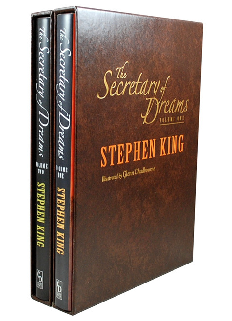"Stephen King ""Secretary of Dreams"" Two Volume Matched Set, Slipcased Oversized Hardcover Gift Editions [Very Fine]"