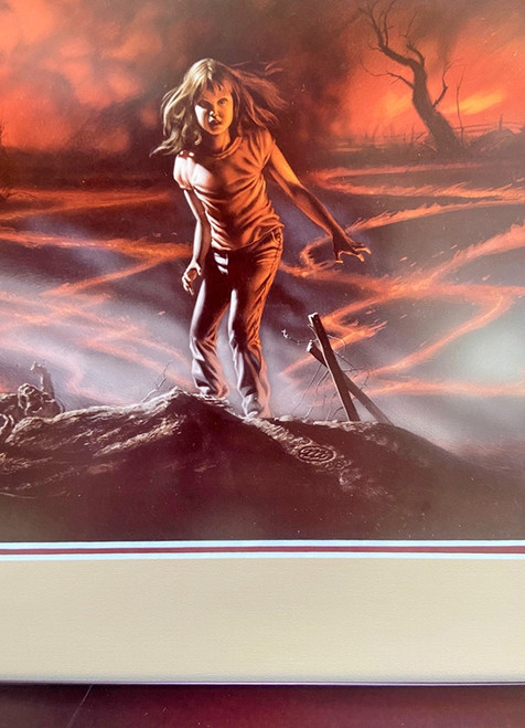 "Micheal Whelan ""Firestarter"" Signed Limited Edition Print, No. 90 of 200, Framed and Matted [Fine]"