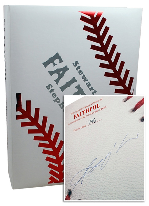 "Stephen King, Stewart O'Nan ""Faithful"" Signed Limited Edition No.146 of 350, Tray-cased [Very Fine]"