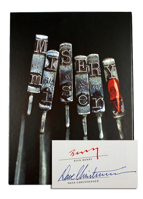 "Stephen King ""Misery"" Signed Limited Artist Gift Edition of only 1,250 [Sealed]"