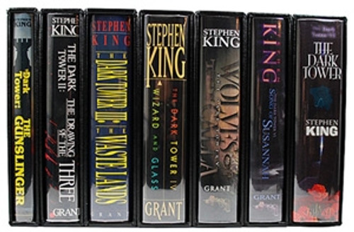 "Stephen King ""The Dark Tower"" Donald M. Grant, First Edition, First Printing, Complete 8 Volume Set w/Slipcases"