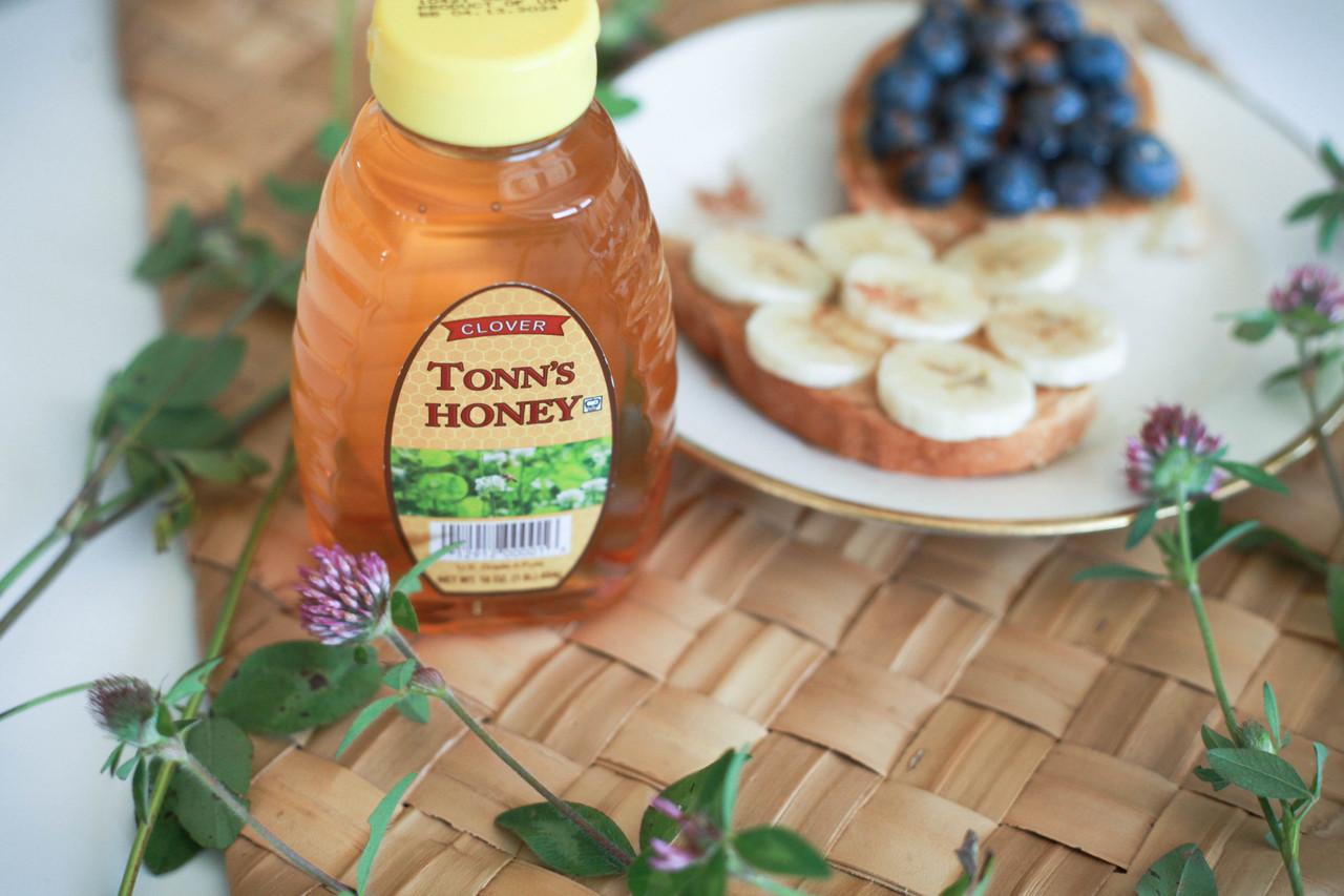 Hand Harvested Honey jars