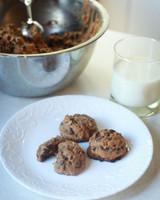 Honey Sweetened Chocolate Chip Cookies