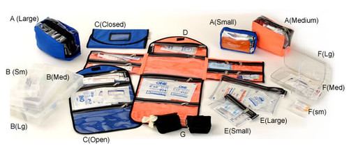 10-pocket ClearView Pouches D.