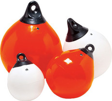"Tuff End Orange 18"" Inflatable Buoy"