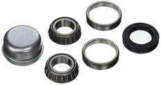 "Precision-tapered roller bearings. Includes Two cones, two cups, seal, cotter pin and dust cap (where noted). 1"" 241-81111"