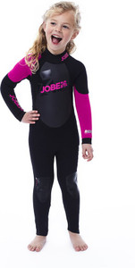 JOBE PROGRESS REBEL YOUTH 3/2.5 WETSUIT (PINK/BLK) (L)