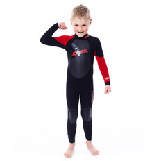 JOBE PROGRESS REBEL YOUTH WETSUIT 3/2.5mm (RED/BLK) (S)