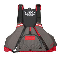 YUKON PADDLE VEST EPIC Carbon & Deep Red.(2X/3XL)