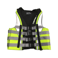 OBRIEN MENS 4-Buckle Nylon Life Vest (GREEN/BLK) 2XL