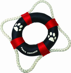 PAWS ABOARD PET LIFE RING TOY