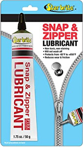 STAR BRITE CLEAR SNAP &  ZIPPER LUBE 1.75 OZ OR 50G