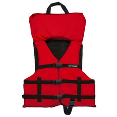AIRHEAD CHILD UNIVERSAL LIFE VEST (RED) 30-50LBS