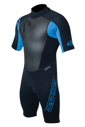 The JetPilot Shorty Cause is perfect for hopping on the water in. The suit is designed to keep you warm enough in the water but also cool enough so you don't break a sweat.