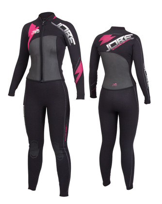 JOBE Progress Ruthless Wetsuit is ideal for the cool days on the water. Long sleeves and long pants are perfect to keep every part of your body separate from the water and to help keep you warmer in lower temperature waters.