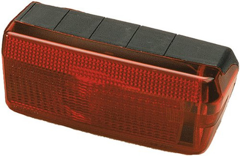 Wesbar Wrap-Around Right Marine Tail Light Lens has a sealed capsule that protects the bulbs from corrosion and thermoshock failure and creates a reliable waterproof design. These lights meet FMVSS/CMVSS 108 requirements for trailers. 274-003373