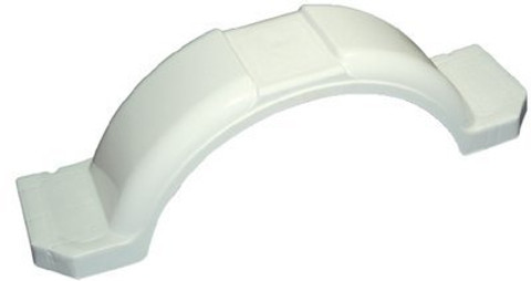 Tie Down Engineering 11 3/8W x 45 L x 11H Large White Fender.  241-44332