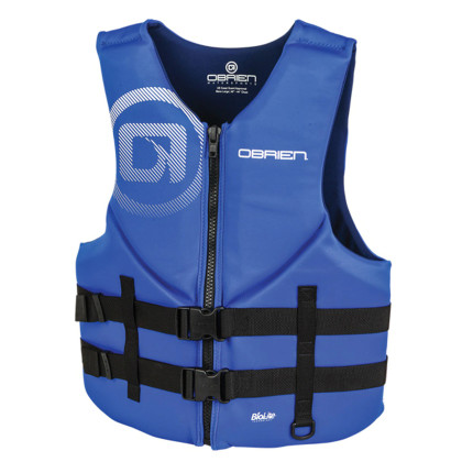 OBRIEN MENS TRADITIONAL NEO VEST (5XL)(BLUE)