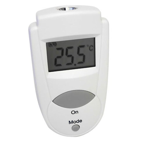 ACCD0414IR:  Mini-Flash Pocket Infrared Thermometer, Max-Min-memory, C° or F° - Scale, Automatic Hold  Range: -33/220°C Accuracy: ±1°C