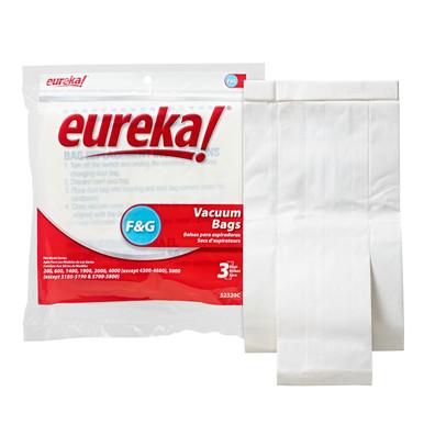Eureka Standard Filtration F Amp G Bag Bank S Vac