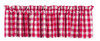 Picnic Red Valance
