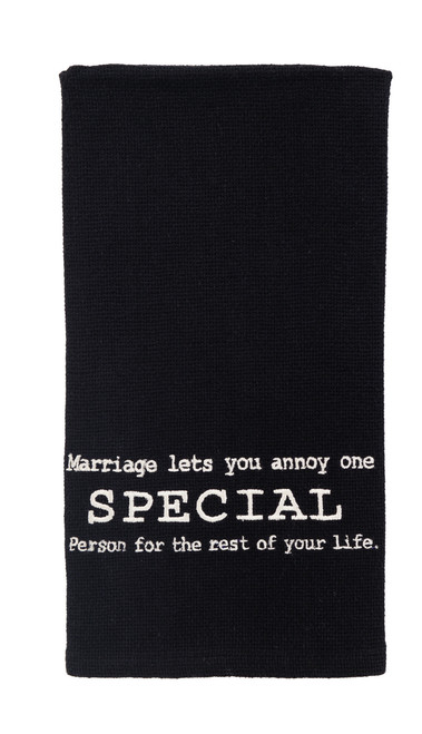 Annoy One Special Person Dishtowel