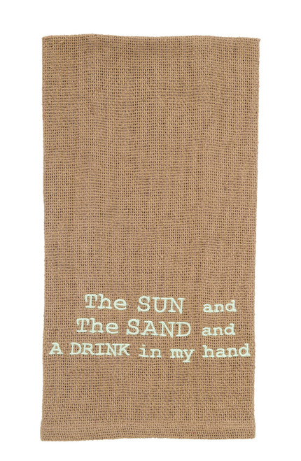 Drink In My Hand Dishtowel