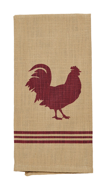Red Rooster Dishtowel