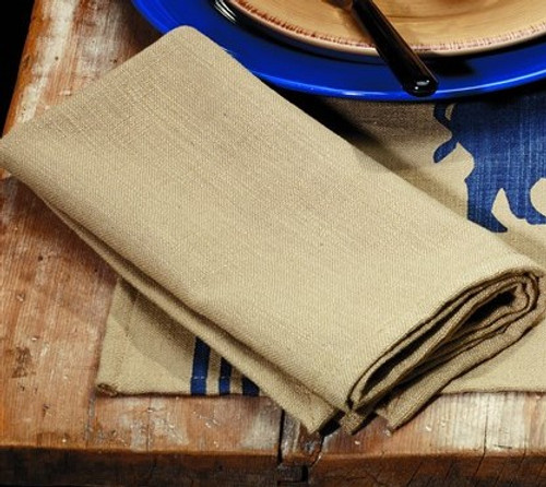 Red Rooster Napkin (Solid Tan)