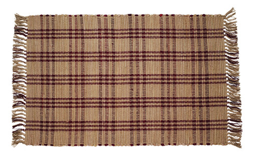 Cottonwood Red Rectangle Rug