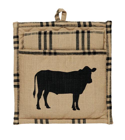 Cattle Potholder Gift Set - 2 Piece set