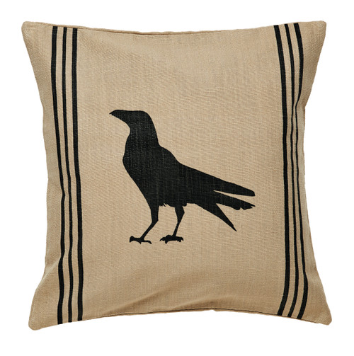 Olde Crow Pillow Cover