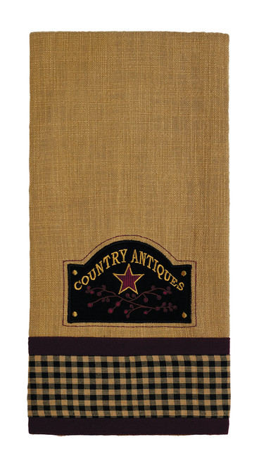 Berry Country Antiques Dishtowel