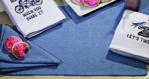 Sorbet Blue Placemat