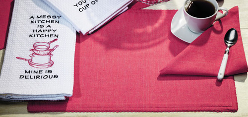 Sorbet Coral Placemat