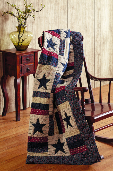 Liberty Quilted Throw