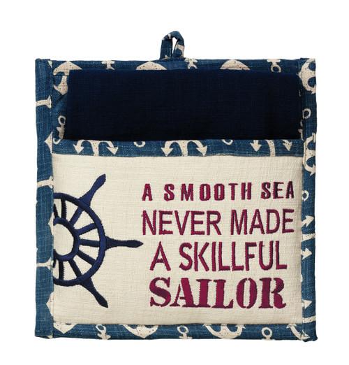 Maritime Potholder Gift Set - 2 Peice set