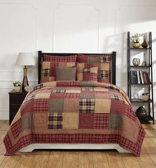 Rutherford Queen/Full Quilt Set