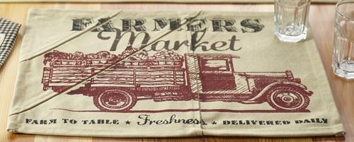 Farmers Market Placemat