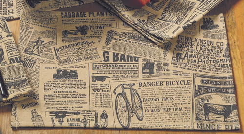 Classifieds Black Placemat