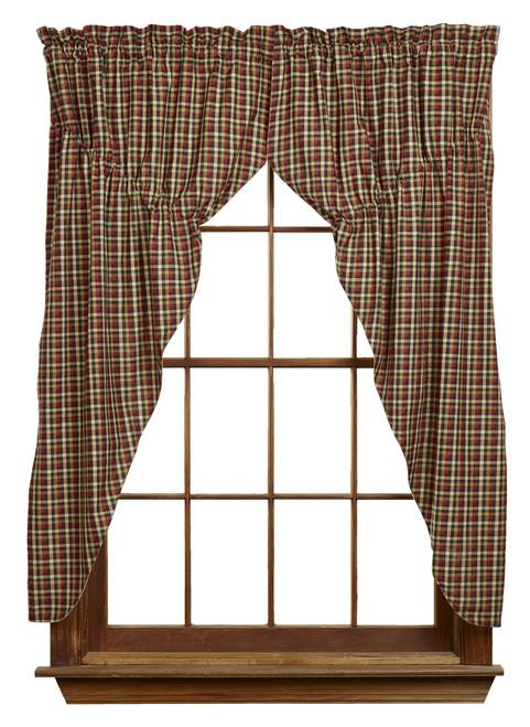 Tangled Berries Prairie Curtain Set
