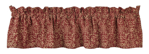 Evelyn Wine Valance