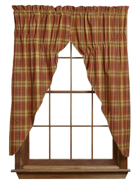 Cinnamon Prairie Curtain Set